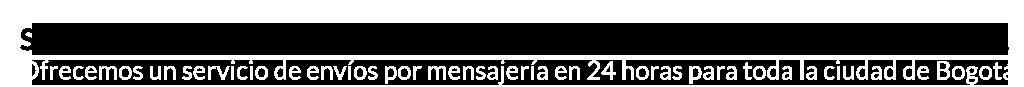 Barra Servicio express